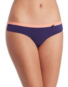 Kensie Abby Cheeky Bikini Women's Dustberry Small