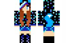 Minecraft Girl Skins, Minecraft Pe, Minecraft Stuff, Minecraft Ideas, Father And Girl, Amazing Minecraft, Nyan Cat, Fox Girl, Crafts For Girls