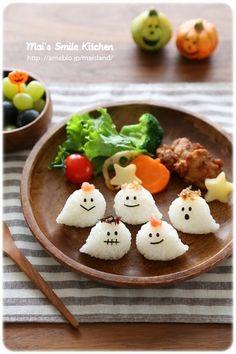 【プチおばけちゃんおにぎり♪】 の画像|Mai's スマイル キッチン