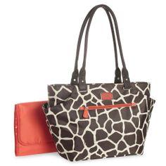 """Carter's Tote Bag - Giraffe Print - Carters - Babies """"R"""" Us"""