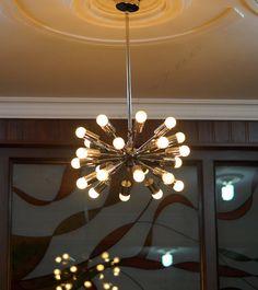 24 Arms Sputnik Starburst Light Fixture Chandelier - Industrial Modern fixture - BEST PRICE