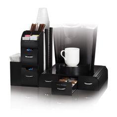 Mind Reader Combine Coffee Condiment Organizer - CMB02-BLK