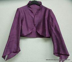 yo elijo coser: Cómo hacer una torera o bolero, patrón incluido