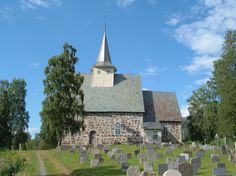 Slidredomen is a Middle Ages stone church built in the late 1100s, Norway