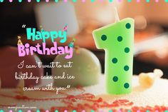 First Birthday Wishes For A Niece 1st Birthday Quotes, Birthday Messages For Son, First Birthday Wishes, Birthday Captions, Happy Birthday Wishes Quotes, Wishes For Baby, Happy Birthday Greetings, Girl First Birthday, First Birthdays