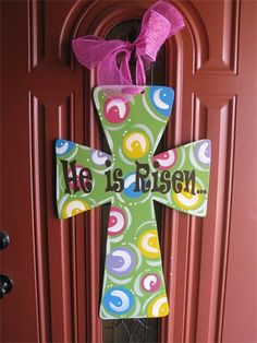 For front door instead of Easter Wreath.