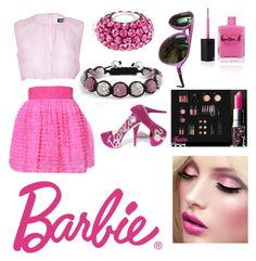 Barbie by xxfashi0nf0reverxx on Polyvore featuring polyvore, fashion, style, D&G, Bling Jewelry, Wildfox, Lauren B. Beauty, MAC Cosmetics, women's clothing, women's fashion, women, female, woman, misses and juniors
