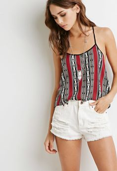 Southwestern Print Cami | Forever 21 - 2000098730