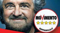 Beppe Grillo - 2013 - Movimento 5 Stelle - Political Poster