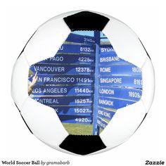 World #Soccer Ball