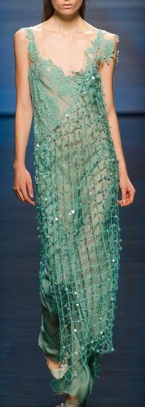 """Alberta Ferretti Spring 2013. ✭~~hh/ (Be sure to see my board: """"DressUp Weddings My Faves."""")"""