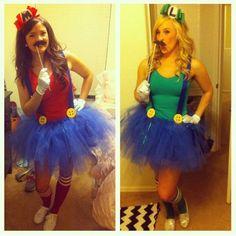 Gamingday : Costumes de Mario et Luigi…Pour filles !