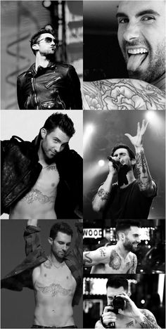 In honor of the voice tonight adam levine Maroon 5, Tatuagens Do Adam Levine, The Voice Estados Unidos, Look At You, How To Look Better, Gorgeous Men, Beautiful People, Beautiful Things, Johny Depp