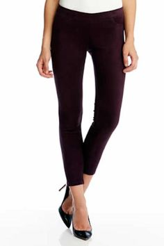 The perfect pant to transition into fall. Soft and stretchy comfortable yet looks luxurious. Faux Suede Pant by Karen Kane. Clothing - Bottoms - Pants & Leggings - Skinny Clothing - Bottoms - Pants & Leggings - Slim Virginia