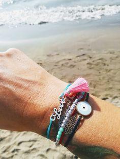 Summer, Essentials, Armcandy, Handmade Jewelry, Handgemachter Schmuck Summer Essentials, Handmade Jewelry, Beaded Bracelets, Fashion, Schmuck, Moda, Handmade Jewellery, Fashion Styles, Pearl Bracelets