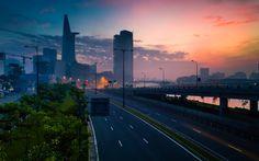 Sai Gon at dawn