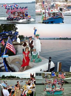 Fourth of July Boat Parades
