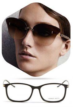 ARMANI Eye, Sunglasses, Fashion, Moda, Fashion Styles, Sunnies, Shades, Fashion Illustrations, Eyeglasses