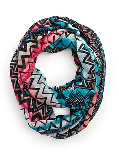 Ombre Chevron Mix Infinity Scarf | Scarves | rue21