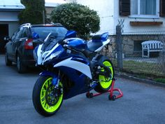 florescent yamaha r6 custom paint | New Design for my R6, whats your opinion?