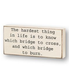 'The Hardest Thing' #quotes #quote