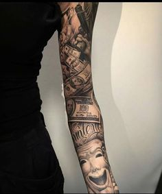 sleeve chicano tattoo