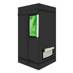 Hydroponic Indoor Mylar Reflective Planting Grow Tent Room w/Green Window Grow Light Bulbs, Led Grow Lights, Hydroponic Gardening, Hydroponics, Tent Room, Green Windows, Growing Plants Indoors, Indoor Greenhouse, Grow Kit