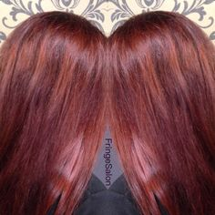 Ravishing Red #fringesalon84
