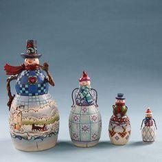 Jim Shore, Snowmen Nesting Boxes $66.99