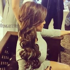 I would like to curl my hair for my wedding day.