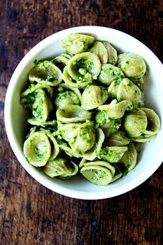 Ramp green pesto orecchiette