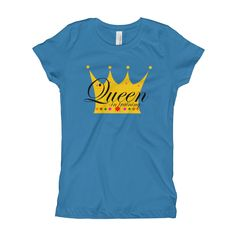 Queen In Training Tee - Girls (Youth)