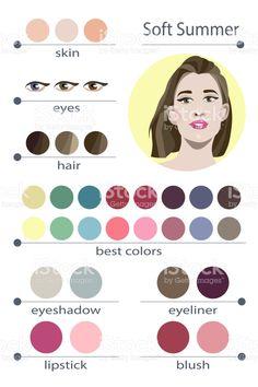 Resultado de imagem para soft summer makeup