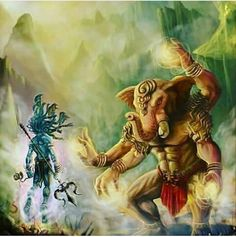 Shiva and Ganesha Shiva Parvati Images, Mahakal Shiva, Shiva Art, Ganesha Art, Shri Ganesh, Lord Ganesha Paintings, Lord Shiva Painting, Om Gam Ganapataye Namaha, Aghori Shiva