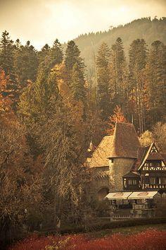 Sinaia, on Prahova Valley.