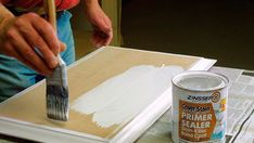 How to Paint MDF   Painting MDF   DIY Doctor