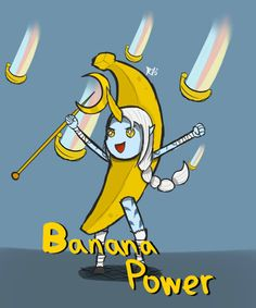 I love this art xD Banana power ! from elohell.net