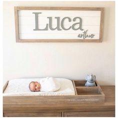 Nursery Decor Boy, Nursery Letters, Nursery Signs, Girl Nursery, Rustic Nursery Boy, Baby Room Decor, Baby Boy Rooms, Baby Boy Nurseries, Baby Nursery Ideas For Boy
