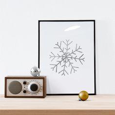 New to WallCandyPrintables on Etsy: Christmas Printable Christmas Art Holiday Printable Holiday Art Winter Art Christmas Snowflake Art Snowflake (5.00 USD)