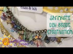 Shrinkets DIY Beads Recorded Live #creativation - YouTube