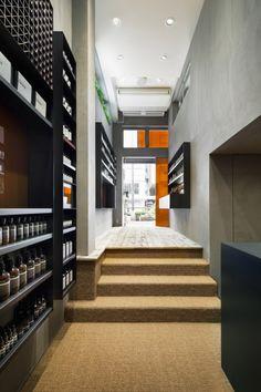 Aesop Shibuya Tokyo イソップ 渋谷店 « TORAFU ARCHITECTS トラフ建築設計事務所