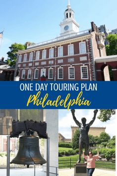 One day in Philadelphia to tourist it up: Here's how you can make the most of your one day in Philadelphia as a big ol' tourist. This easy touring plan will help you get the most out of the City of Brotherly Love! Philadelphia Tours, Travel Usa, Travel Tips, Rocky Steps, Arch Street, East Coast Travel, One Day Trip, United States Travel, West Virginia