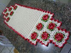 Dy Crochê!: Trilhos de mesa ou caminhos de mesa!