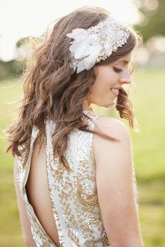 10 complementos para el peinado de la Novia | Preparar tu boda es facilisimo.com