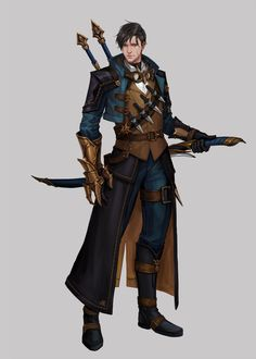M, insoo kim Dark Fantasy, Fantasy Art Men, Fantasy Armor, Character Portraits, Character Outfits, Game Character, Character Concept, Dungeons And Dragons Characters, Dnd Characters