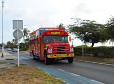 Kukoo Kunuku Party bus in Aruba - Want a fun time, this is the bus to be on!