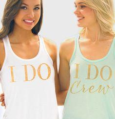 I Do & I Do Crew Tank | The House of Bachelorette