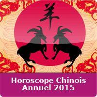 (PAS UNE TRAME SONORE) Horoscope Chinois 2015  Après l'année du Cheval qui s'achève le 19 février 2015, nous allons entamer un nouveau cycle sous l'égide de la Chèvre.  En savoir plus: Horoscope 2015 Chinois Gratuit http://www.mon-horoscope-du-jour.com/horoscopes-chinois/annuel-2015/#ixzz3SGACeQ42
