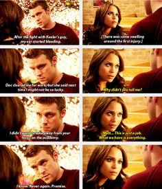 """Casey and Dawson - """"This is just a job. What we have is everything."""""""
