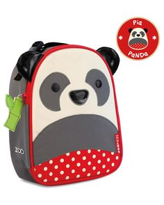 Skip Hop Baby Zoo Little Kid and Toddler Insulated and Water-Resistant Lunch Bag, Multi Pia Panda - Panda Things Kids Lunch Bags, Best Lunch Bags, Kids Bags, Skip Hop Lunch Box, Mochila Skip Hop, Lunch Box Backpack, Skip Hop Zoo, Cool Lunch Boxes, School Lunch Box